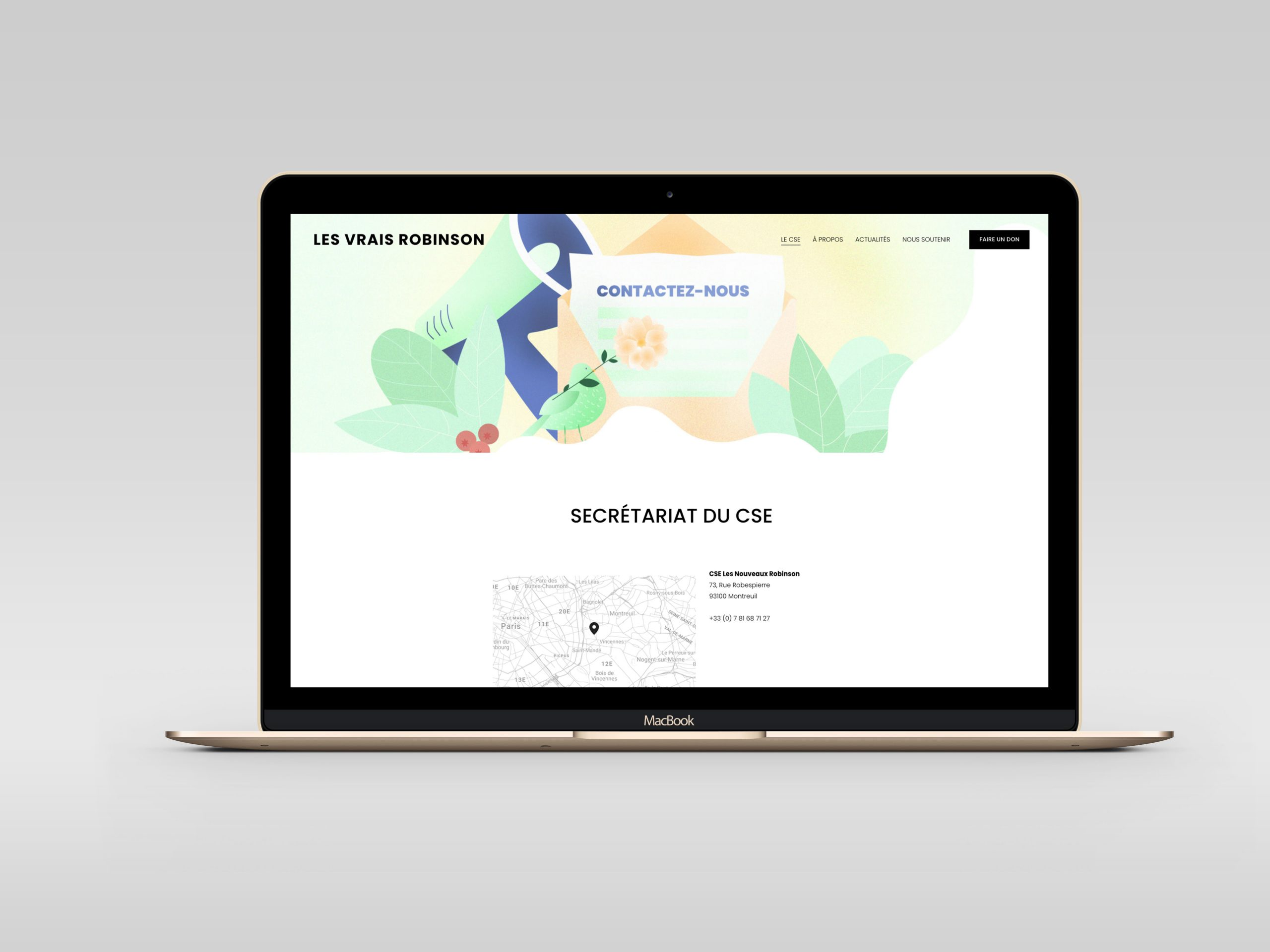 CSE-Contact-site-web